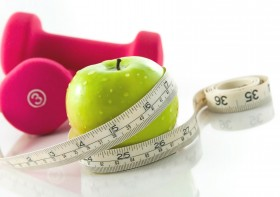 Gå ner i vikt och träna